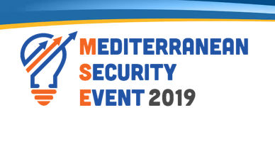 Astrid at the Mediterranean Security Event