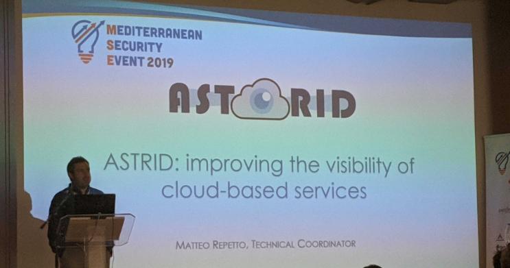 Astrid presentation at MSE2019